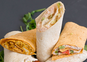 Buffets wraps by Robinsons of Chelmsford