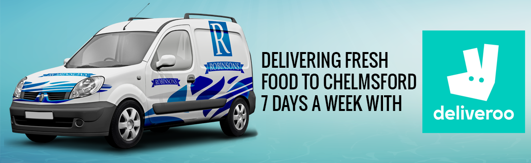 Robinsons Fish and Chips deliver with Deliveroo